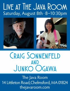 Java Room Concert Poster August 2015