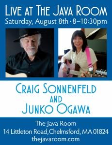 Java Room Concert Poster August 2015